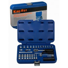 Набор инструментов King Roy 039MDA (39 предметов)