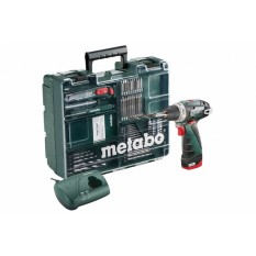 Дрель-шуруповерт аккумуляторная Metabo BS Mobile Workshop NEW (600079880)