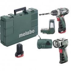 Дрель-шуруповерт аккумуляторная Metabo PowerMaxx BS Basic (600080530)