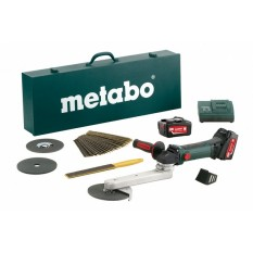 Угловая шлифмашина Metabo KNS 18 LTX 150 INOX (600191880)