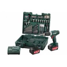 Дрель-шуруповерт аккумуляторная Metabo BS 18 Li Mobile Workshop (602116880)