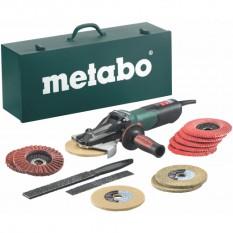 Шлифовальная машина Metabo WEVF 10-125 Quick Inox Set (кейс) (613080500)