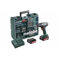 Дрель-шуруповерт аккумуляторная Metabo BS 14.4 Li Mobile Workshop (602105540)