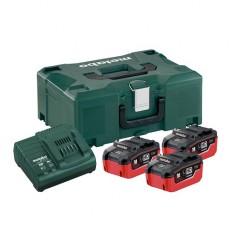 Базовый комплект аккумуляторов Metabo + MetaLoc (685069000)