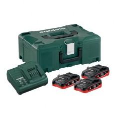 Базовый комплект аккумуляторов Metabo + MetaLoc (685075000)