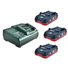 Базовый комплект аккумуляторов Metabo (685076000)