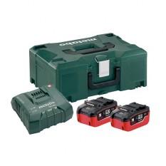 Базовый комплект аккумуляторов Metabo + MetaLoc (685077000)