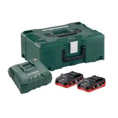 Базовый комплект аккумуляторов Metabo + MetaLoc (685078000)