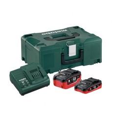Базовый комплект аккумуляторов Metabo + MetaLoc (685079000)