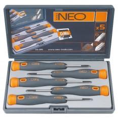 Набор прецизионных отверток 5 шт Neo Tools 04-225