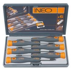 Набор прецизионных отверток Topx 6 шт Neo tools 04-226