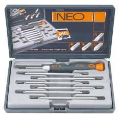 Отвертки прецизионные 8 шт Neo Tools 04-227