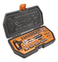 Набор сменных головок 1/4, 34 шт, Neo Tools 08-601