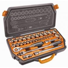 Набор головок 1/2, 8-36 мм, 33 шт, Neo Tools 08-618