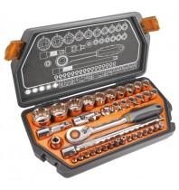 Набор сменных головок 1/2, 10-32 мм, 38 шт, Neo Tools 08-630