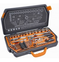 """Набор головок для авто Spline 1/2, 1/4"""",4-32 мм, 71 шт, Nео Tools 08-635"""