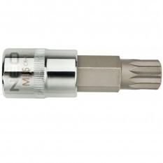 Наконечник Spline 1/2, M10 x 55 мм сталь CrV Neo Tools 08-733