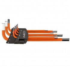 Набор шестигранных ключей Neo Tools 09-517