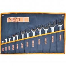 Ключи гаечные с открытым зевом 12 ед. Neo Tools 09-852