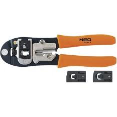 Клещи для телефонных наконечников 195 мм Neo Tools 01-501
