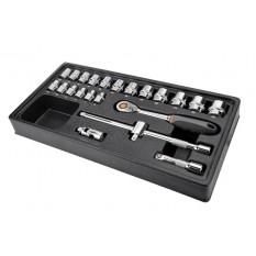 Набор торцевых ключей 23 ед. Neo Tools 84-272