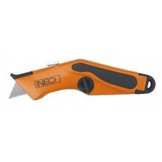 Нож с трапециевидным лезвием 18 мм Neо 63-701