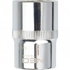 "Головка двенадцатигранная Spline 1/2"" 23 мм сталь CrV Neo Tools 08-596"