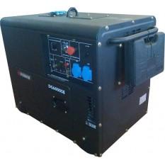 Дизельный генератор Q-power QDG6000SE