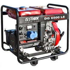 Дизельный генератор Stark DG 6500 LE