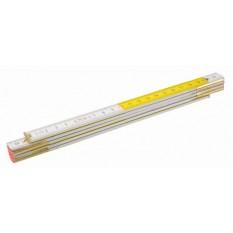 Метр складной деревянный Topex 2 м 26C006