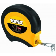 Строительная рулетка Topex 20 м х 13 мм 28C422