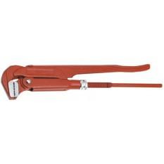 Ключ трубный тип 90º L-530 мм., Ra-67/2.0 мм., m-2.2 kg, CrV., Topex 34D753