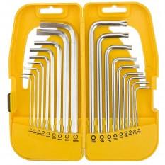 Набор шестигранных ключей Topex 35D953