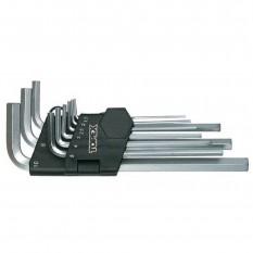 Набор шестигранных ключей Topex 35D955