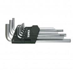 Набор шестигранных ключей Topex 35D957