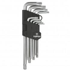 Набор шестигранных ключей Topex 35D961
