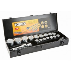 Набор сменных головок и насадок 3/4, 20 шт. Topex 38D296