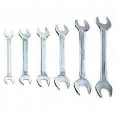 Ключи гаечные с открытым зевом 6 ед. Top Tools 35D255