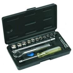Набор сменных головок и насадок 16 шт. Top Tools 38D255