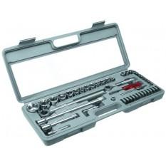 Набор сменных головок и насадок 52 шт Top Tools 38D270