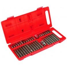 Насадки шестигранные Spline, Torx, набор 40 шт. Top Tools 39D377