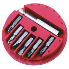 Сменные наконечники с держателем 7 шт. Top Tools 39D381