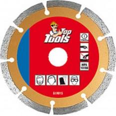 Диск алмазный Top Tools 115 x 22.2 мм 61H315