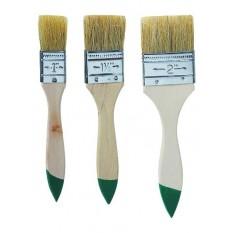 Кисти малярные плоские, набор 3 шт. Top Tools 19B530