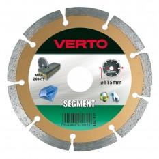 Диск алмазный Verto 115 x 22.2 мм 61H3S1