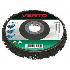 Круг шлифовальный Verto 125 x 22.2 мм 61H930