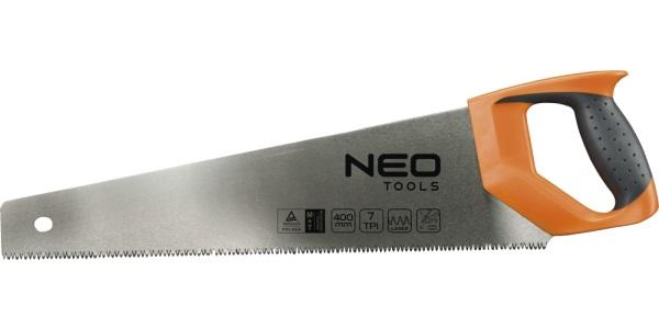 Ножовка по дереву 7TPI 400мм NEO 41-031